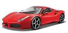BBURAGO 1:43 - FERRARI 488 GTB RED (SIGNATURE)