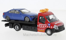 BBURAGO 1:43 - IVECO DAILY TRANSPORT WITH BMW 6 SERIES
