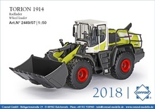 Conrad 1:50 - TORION 1914 Wheel loader Claas