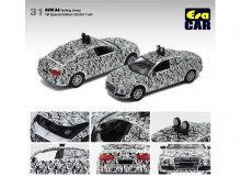 ERA 1:64 - AUDI A6 1ST SPECIAL EDITION TESTING LIVERY, WHITE-BLACK