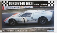 FUJIMI 1:24 - FORD GT40 MK-II 1966 2ND LE MANS #RS32, PLASTIC MODELKIT.