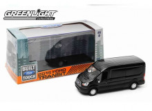 GREENLIGHT 1:43 - FORD TRANSIT 2015 V363, BLACK