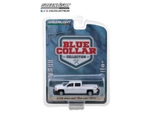 GREENLIGHT 1:64 - CHEVROLET SILVERADO 2018 PICK-UP, BLUE COLLAR COLLECTION SERIES 4