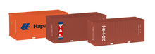 "HERPA 1:87 - Container-Set 3x20 ft. ""Hapag Lloyd / TAL / Triton"""
