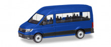 HERPA 1:87 - MAN TGE Bus, ultramarine blue