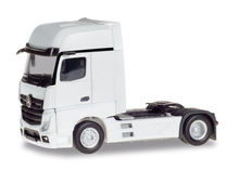 HERPA 1:87 - MERCEDES-BENZ ACTROS GIGASPACE, WHITE