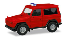 HERPA 1:87 - MiniKit: Mercedes-Benz G-Modell, red (unprinted / Warning light bar enclosed)