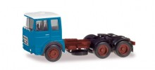HERPA 1:87 - Roman Diesel 6×4 rigid tractor, light blue / white roof