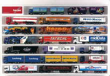 HERPA 1:87 - Truck showcase (white), European lenght (25.4 in. x 17.7 in. x 1.4 in.)