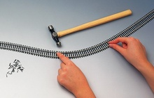 HORNBY 1:87 - SEMI-FLEXIBLE TRACK (915 MM)