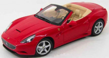 HOTWHEELS 1:18 - FERRARI CALIFORNIA, RED
