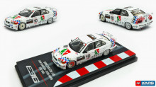 INNO MODELS 1:64 - BMW E36 318I 1995 #10 STEVE SOPER JAPAN TOURING CAR CHAMPIONSHIP *TEAM SCHNITZER*, WHITE