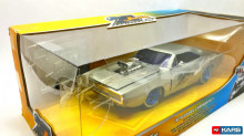 "JADA 1:24 - 1970 DODGE CHARGER ""20TH ANNIVERSARY SERIES"", CHROME/BLUE"