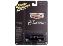 JOHNNY LIGHTNING 1:64 - CADILLAC HEARSE 1966, BLACK