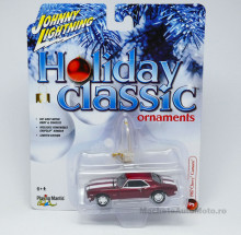 JOHNNY LIGHTNING 1:64 - CHEVROLET CAMARO Z28 1967 *HOLIDAY CLASSIC ORNAMENTS* CANDY RED
