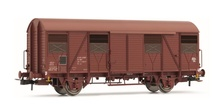 Jouef HO (1:87) - Set x 2 closed wagons G4,UIC ORE, SNCF Epo ch IV