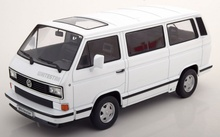 KK SCALE 1:18 - VOLKSWAGEN BUS T3 WHITE STAR, 1993 - ALB