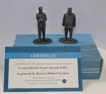 MAGAZINE MODELS 1:26 - MARSHALL JOFFRE & GENERAL LYAUTEY