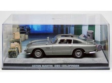 MAGAZINE MODELS 1:43 - ASTON MARTIN DB5 WITH CRATES JAMES BOND 'GOLDFINGER', GREY