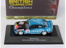 MAGAZINE MODELS 1:43 - BMW M3 (E30) 1991 VL MOTORSPORT #11 WILLY HOY BTCC CHAMPION, BLUE/BLACK