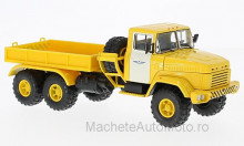 MAGAZINE MODELS 1:43 - KRAZ 6446 B.T., YELLOW/WHITE