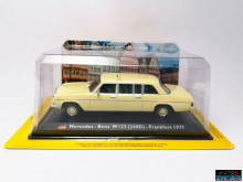 MAGAZINE MODELS 1:43 - MERCEDES 240D - FRANKFURT 1972, TAXI OF THE WORLD - CENTAURIA
