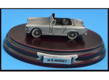 MAGAZINE MODELS 1:43 - MG MIDGET *TIN CLASSIC CAR COLLECTION*, SILVER