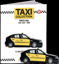 MAGAZINE MODELS 1:43 - SEAT LEON - BARCELONA 1999, TAXI OF THE WORLD - CENTAURIA