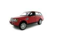 MAISTO 1:18 - 2006 RANGE ROVER SPORT SUPERCHARGED 'SPECIAL EDITION', RED METALLIC