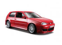 MAISTO 1:24 - VOLKSWAGEN GOLF R32, RED