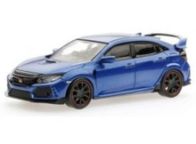 MAISTO 1:43 - HONDA CIVIC TYPE R 2015 PULL-BACK, BLUE