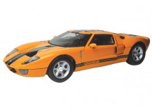 MOTORMAX 1:12 - FORD GT CONCEPT 2004, YELLOW WITH BLACK STRIPES
