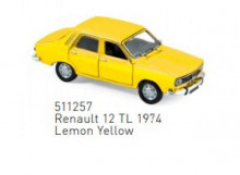 NOREV 1:87 - RENAULT 12 TL 1974, LEMON YELLOW