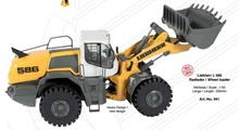 NZG 1:50 - Liebherr L 586, Wheel Loader
