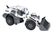 NZG 1:50 - Liebherr L 586, Wheel Loader, white