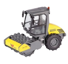 NZG 1:50 - Wacker Neusson Rc70, Compactor with pad foot