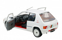 SOLIDO 1:18 - PEUGEOT 205 GTI 1.9 PHASE 1 WHITE