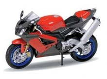 WELLY 1:18 - APRILIA RSV 1000R, RED