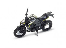 WELLY 1:18 - KAWASAKI Z1000R 2017, BLACK
