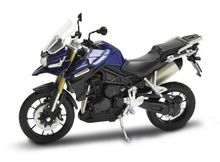WELLY 1:18 - TRIUMPH TIGER EXPLORER, BLUE