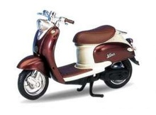 WELLY 1:18 - YAMAHA VINO YJ50R 1999, BROWN-COPPER/CREAM