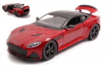 WELLY 1:24 - ASTON MARTIN DBS SUPERLEGGERA METALLIC DARK RED/BLACK