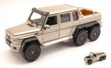WELLY 1:24 - MERCEDES AMG G63 6X6 2014 METALLIC BEIGE