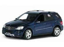 WELLY 1:24 - MERCEDES BENZ ML350 2010, DARK BLUE