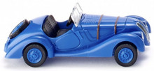 WIKING 1:87 - BMW 328 CABRIOLET 1937, BLUE
