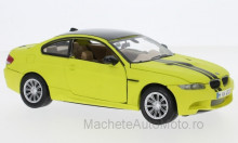 MOTORMAX 1:24 - BMW M3 COUPE, MATT-YELLOW/BLACK