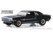 GREENLIGHT 1:64 - CHEVROLET COPO CAMARO 1968 *MUSCLE SERIES 22*, TUXEDO BLACK