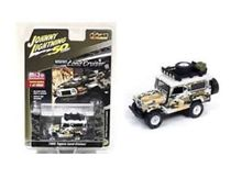 JOHNNY LIGHTNING 1:64 - TOYOTA LANDCRUISER 1980 *CAMOUFLAGE*, WHITE