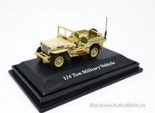 CARARAMA 1:72 - JEEP 1/4 TON MILITARY VEHICLE USA 1944