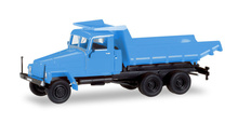 HERPA 1:87 - IFA G5 Truck-mounted tipper, blue